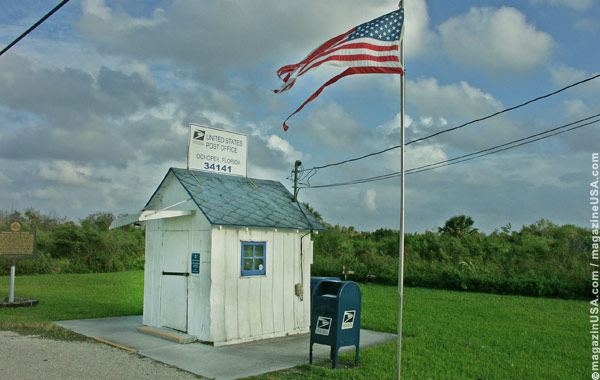 Ein Mini-Post-Office in Florida (am Tamiami Highway)
