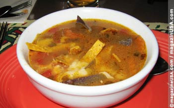 Tortilla Suppe