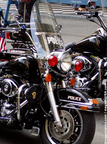 Harley Davidson Police Version