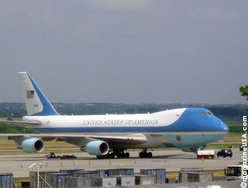 Die aktuelle Air Force One