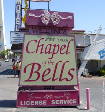 Chapel of the Bells in Las Vegas