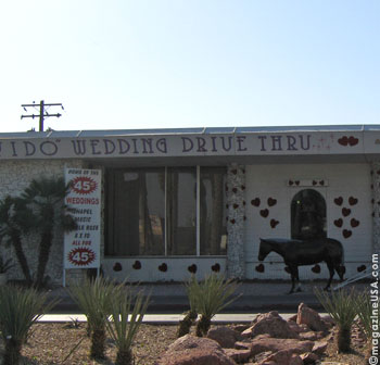 'I DO drive Thru Wedding Chapel, Las Vegas