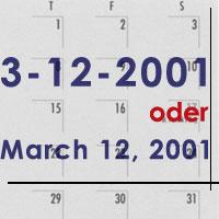 Amerikanisches Datum Schreibweise Usa Reiseinformationen Magazinusa