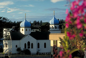 Russisch-Orthodoxe Kirche in Kodiak
