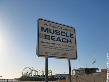 Muscle Beach in Santa Monica