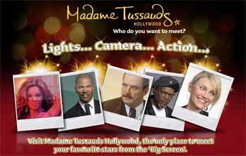 Madame Tussauds Wax Museum, Los Angeles, Hollywood