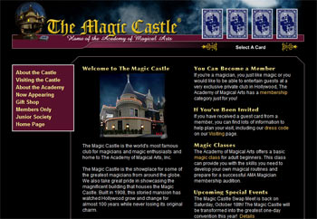 Magic Castle Hollywood - Academy of Magical Arts