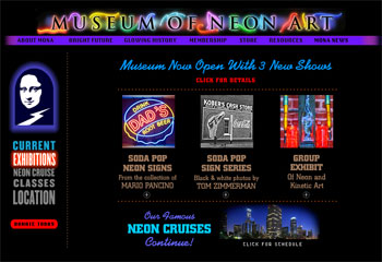 MONA - Museum of Neon Art Los Angeles