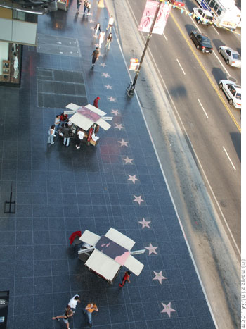 Hollywood Blvd - Walk of Fame