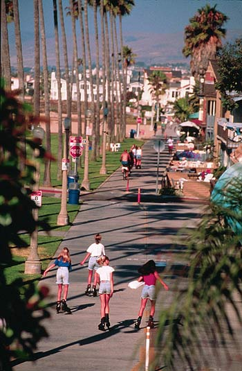 Balboa Peninsula Boardwalk