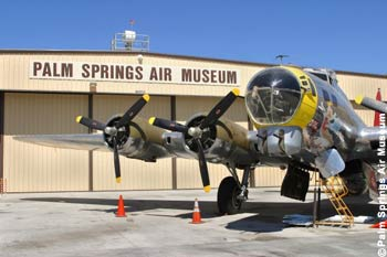Palm Springs Air Museum Exterior