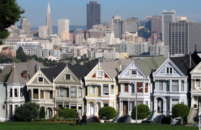 San Francicso's Painted Ladies