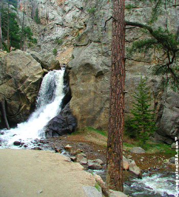 Boulder Falls am Canyon Drive