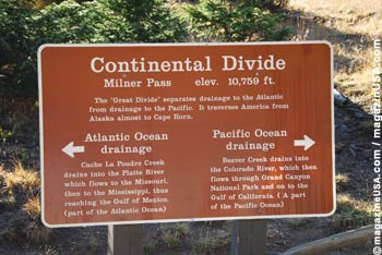 Continental Divide / Milner Pass