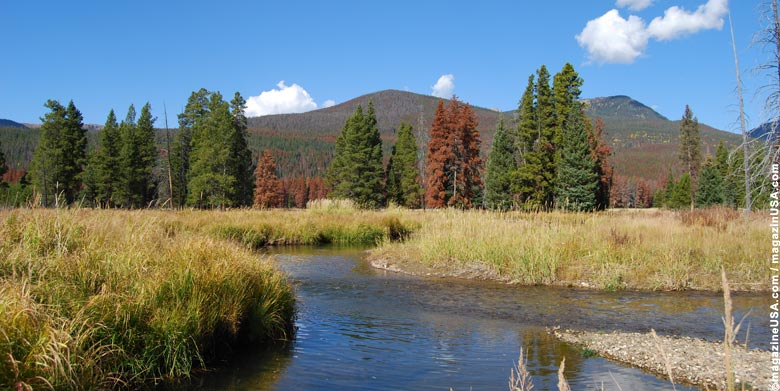Rocky Mountain National Park means Nature-pure! Expect fantastic scenery and wildlife.