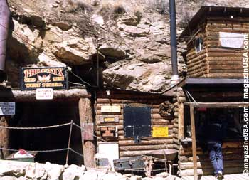 Phoenix Gold Mine in Idaho Springs, Colorado