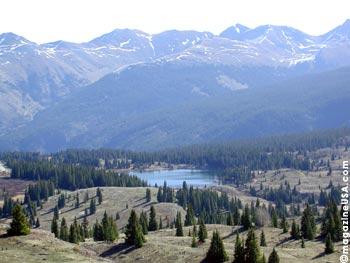 Scenic Drives in den Rocky Mountains