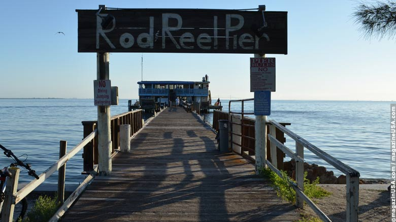 Rod and Reel Pier in Anna Maria