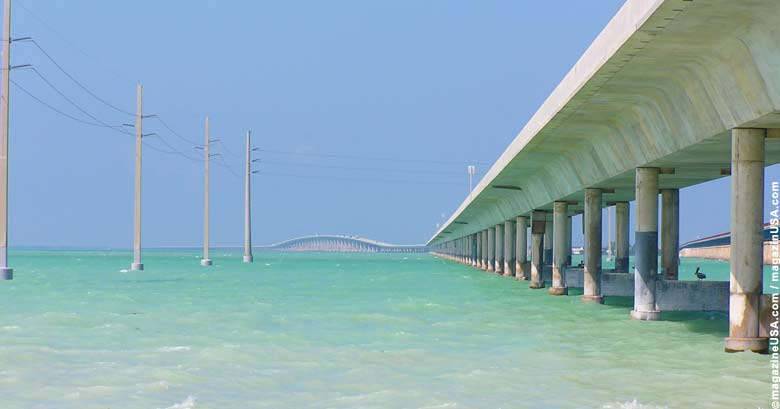 Highway US 1 / Die Seven Mile Bridge