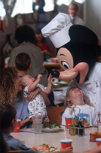 Chef Mickey in Disney's Contemporary Resort
