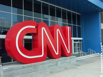 Das CNN Studio in Atlanta