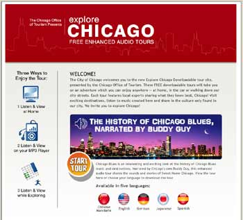Website Screenshot DownloadChicagoTours