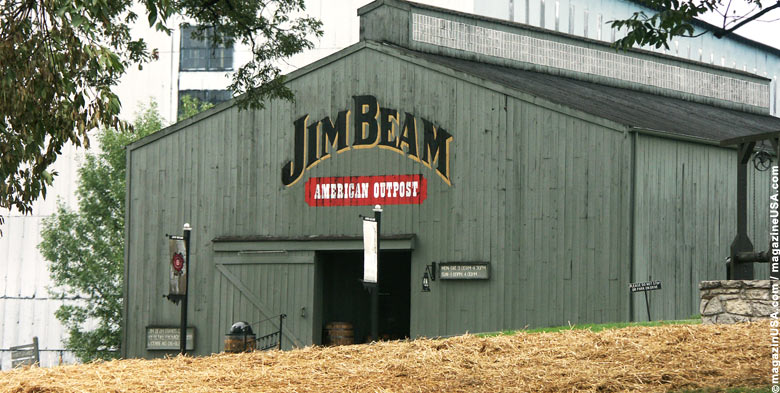 Jim Beam Distillery Outpost, Clermont, Kentucky