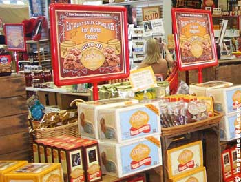 Aunt Sally's Praline Shop in New Orleans
