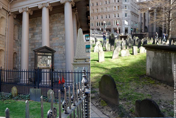 Kings Chapel und Burying Ground