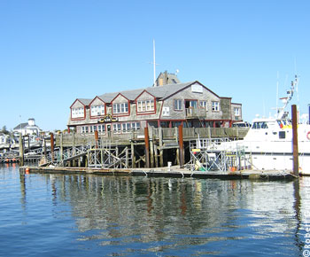 Die Jacht Marina in Provincetown,Cape Cod, Massachusetts