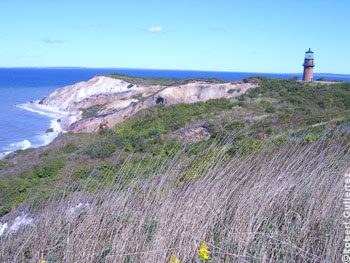 Gay Head Lighthouse in Aquinnah