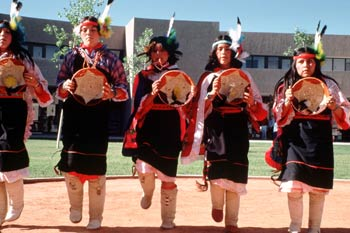 New Mexico is home to nineteen Indian Pueblos and three reservations.