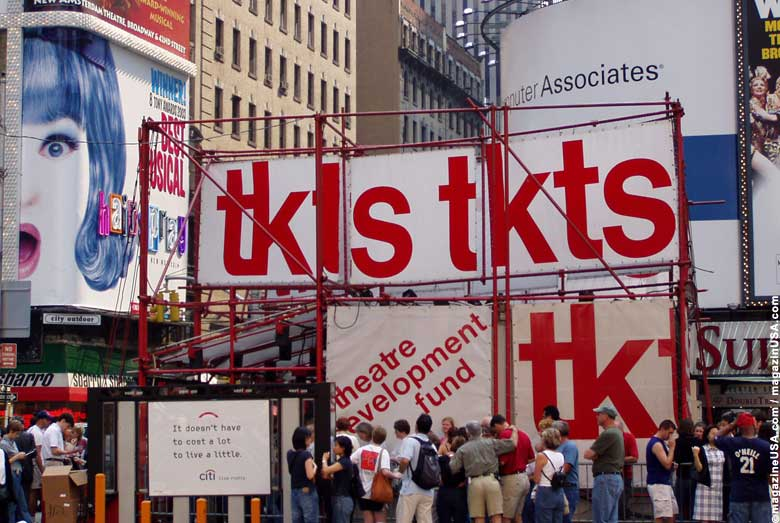 Broadway / Times Square / TKTS Booth