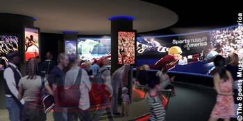 SPORTSmuseum of America in New York City - Immersion Theater