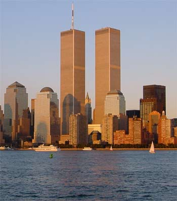 Die Twin Towers vor dem 11. September 2001