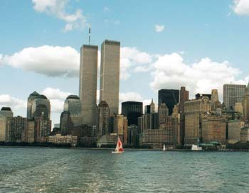 Das World Trade Center (WTC)vor dem 11. September 2001