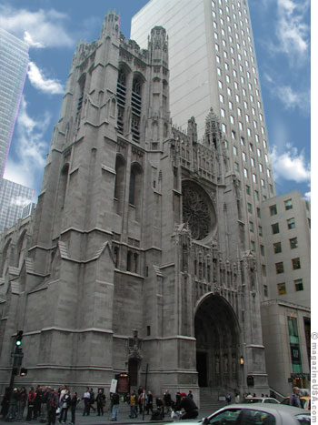 St. Patrick's Cathedral an der 5th Avenue