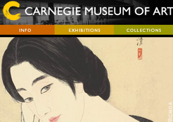 Carnegie Museum of Art in Pittsburg,Pennsylvania
