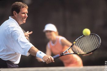 Hilton Head Island is one of the popular destinations for tennis players along the South Carolina coast.