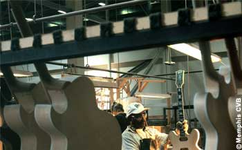 Gibson Guitars Factory Tours Memphis