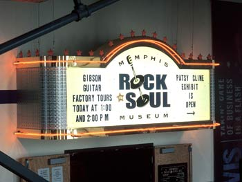 Rock and Soul Museum, Memphis