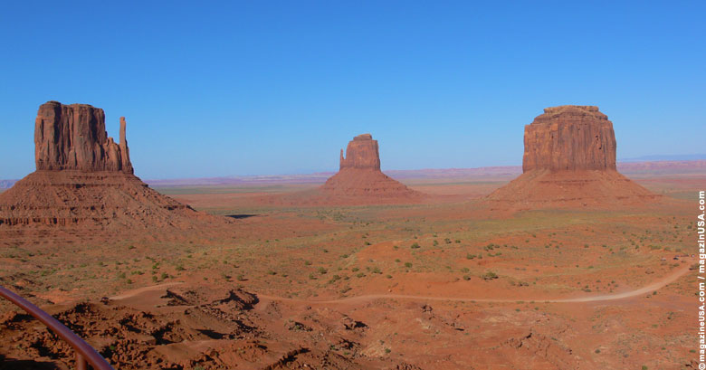 The View Hotel im Monument Valley liegt dicht bei der US 163