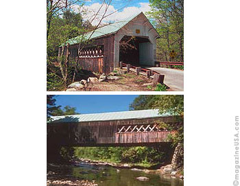 Covered Bridges in Nord West Vermont