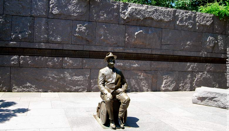 Franklin DeLano Roosevelt Memorial,Washington D.C.