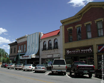 Main Street, in downtown Laramie, Wyoming